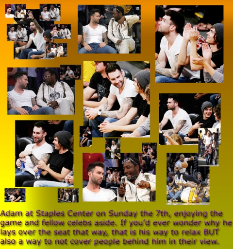 Adam Lakers Lover (Staples Center, 7th June 2009)
