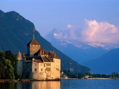 Chateau De Chillon, Montreux, SWI