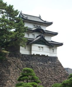 Tokio: Imperial Palace side of ancient fortress