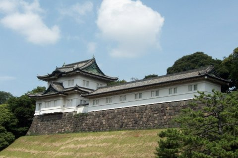 Tokio Imperial Palace (ancient bastion)