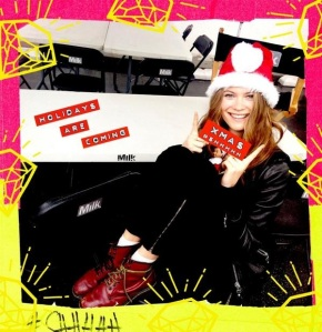 Happy Xmas time from Behati Prinsloo and VS ;)