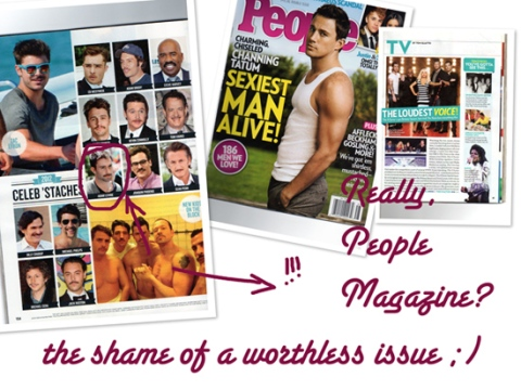 People UN-Sexiest Man Alive issue 2012