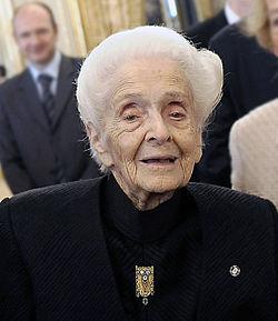 Farewell, glorious Rita Levi Montalcini