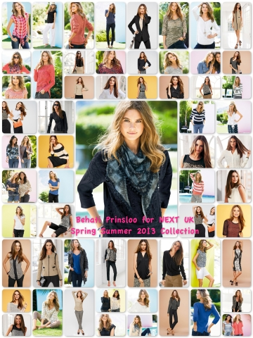 Behati Prinsloo for NEXT UK SS 2013 Collection