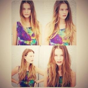 Rocking the exotic features - Behati Prinsloo