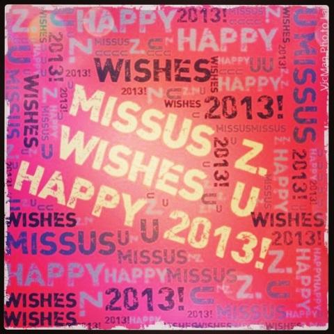 Happy 2013 ;)
