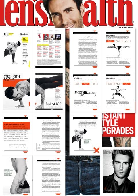 Adam Levine for Men_s_Health Magazine March 2013 - 1