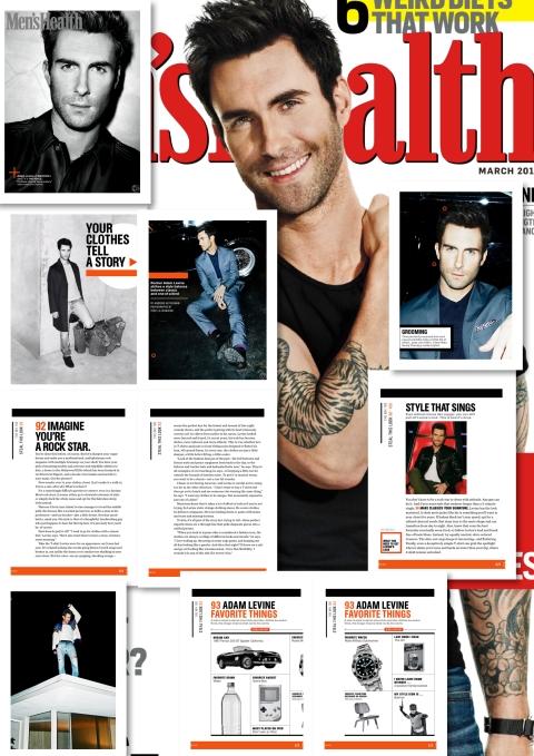 Adam Levine for Men_s_Health Magazine March 2013 - 2