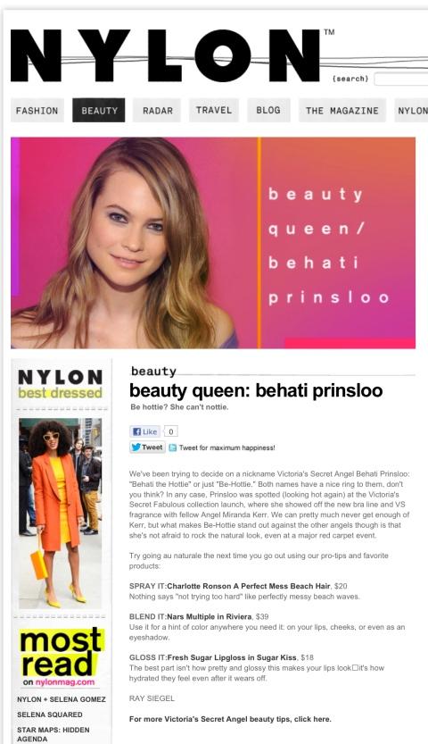 Style Icon Behati Prinsloo