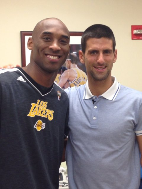 utter perfection in Kobe and Nole