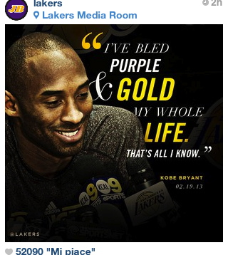 Laker and Legend for LIFE