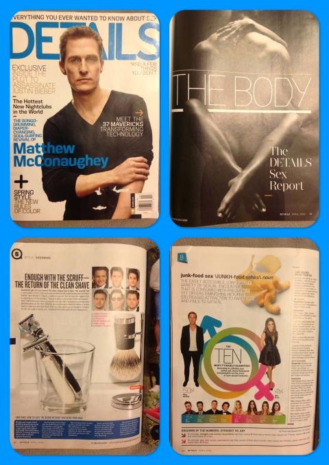 Sexiest List in Details Magazine 2013