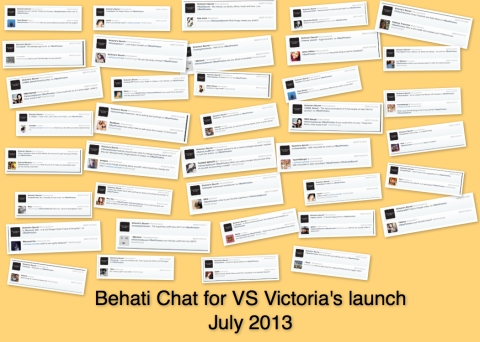 Behati Chat for VS Victoria Launch July 2013 - she ROCKS