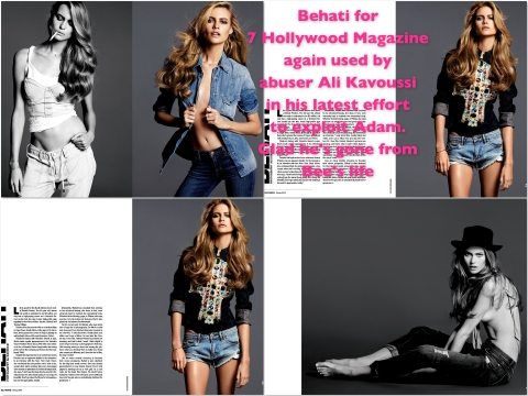 Behati for 7 Hollywood Magazine