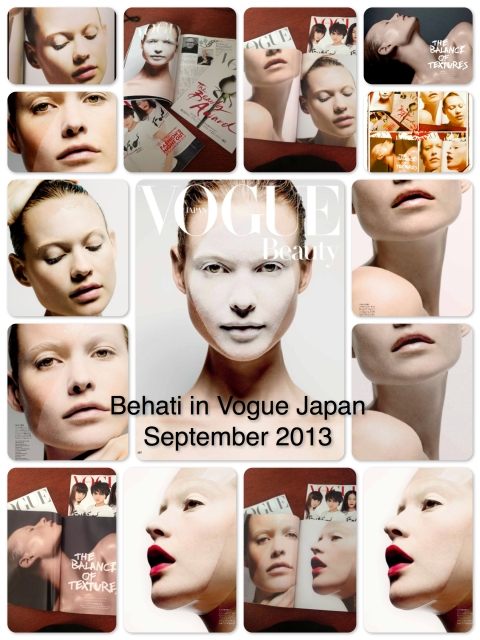 Behati for VOGUE Japan September 2013