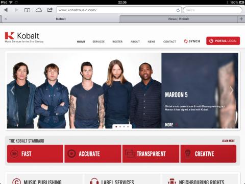 Maroon 5 for Kobalt